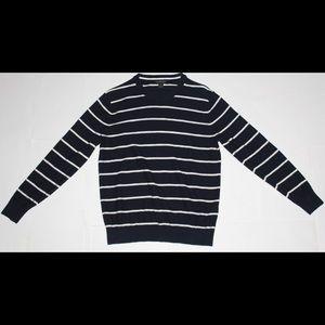 Banana Republic Mens Pullover Sweater (Navy Blue)